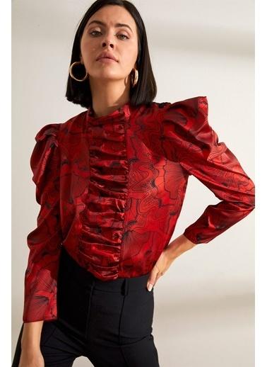 Setre Bluz Kırmızı